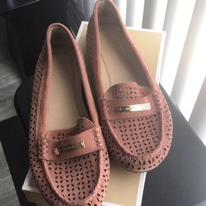 Salmon Colored Michael Kors Loafer Size 9.5